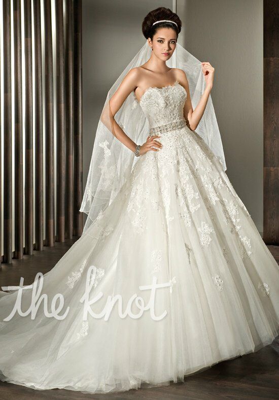 Demetrios 1427 Ball Gown Wedding Dress
