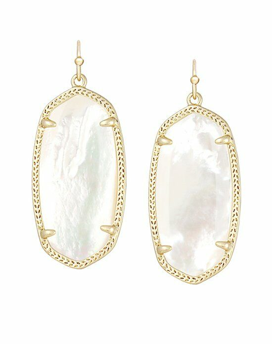 Kendra Scott Elle Earrings in Ivory Wedding Earring photo