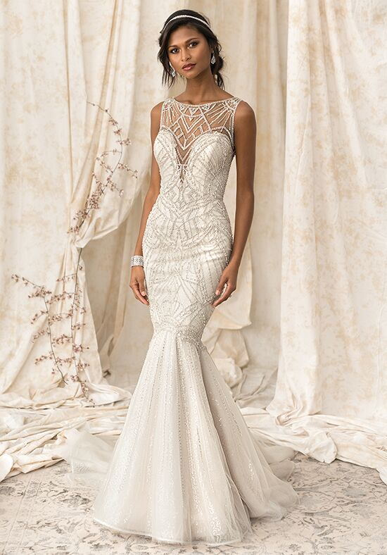 Justin Alexander Signature 9897 Mermaid Wedding Dress