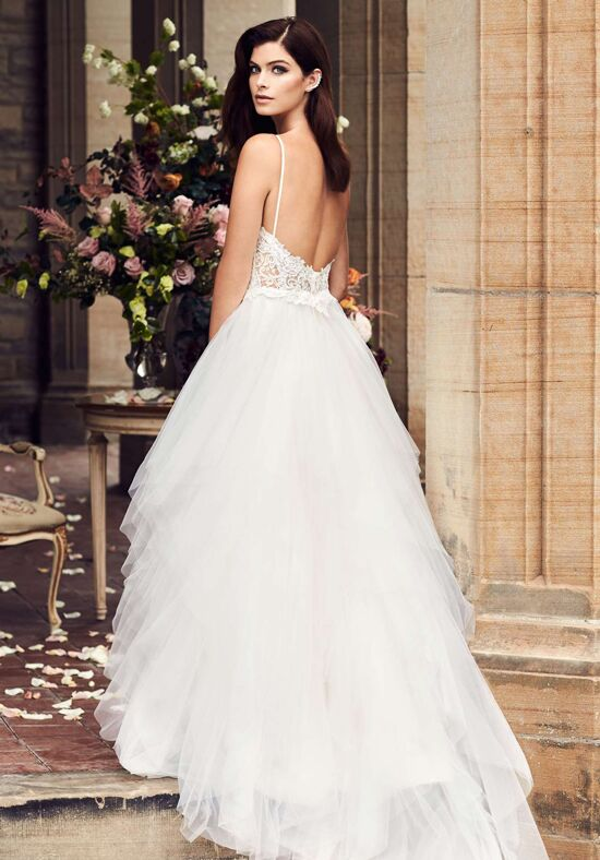 Paloma Blanca 4734 Ball Gown Wedding Dress