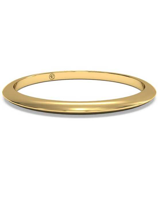 Ritani Women's Classic Knife-Edge Wedding Band - in 18kt Yellow Gold Gold Wedding Ring
