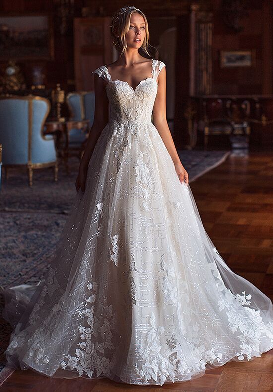 Moonlight Couture H1381 A-Line Wedding Dress