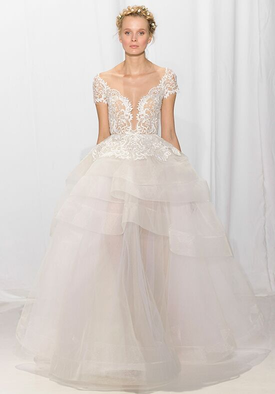 Reem Acra 5622 Ball Gown Wedding Dress