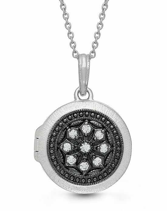 With You Lockets Roxie Necklace Silver Shoe