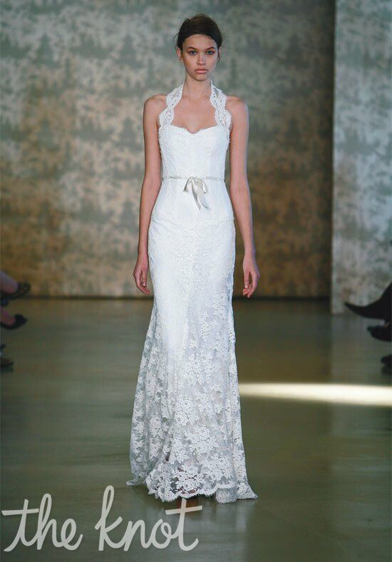 Monique Lhuillier Fabiana Sheath Wedding Dress