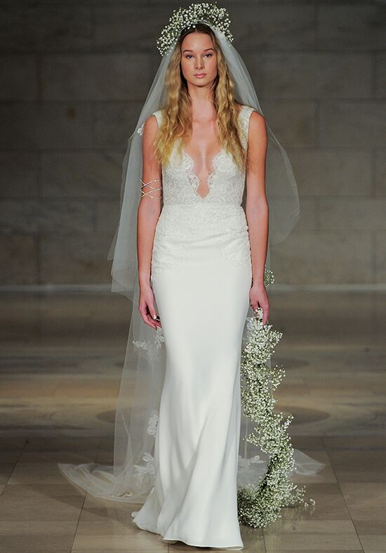 Reem Acra Serenity Sheath Wedding Dress