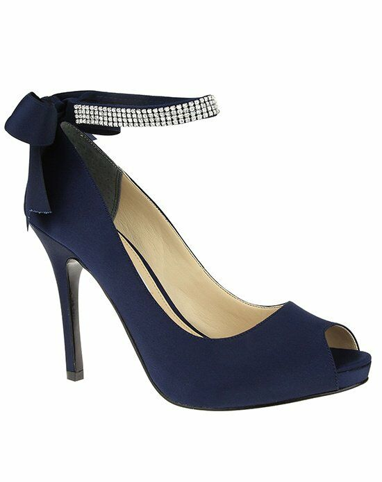 Nina Bridal Wedding Accessories KAREN_NEW NAVY_MAIN Ivory Shoe