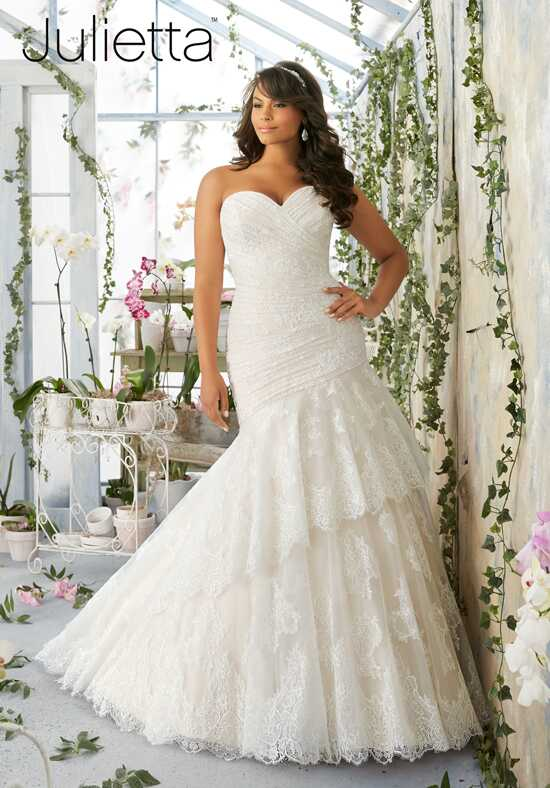 Morilee by Madeline Gardner/Julietta 3191 Mermaid Wedding Dress
