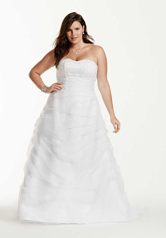 David's Bridal David's Bridal Collection Style 9L9479 Ball Gown Wedding Dress