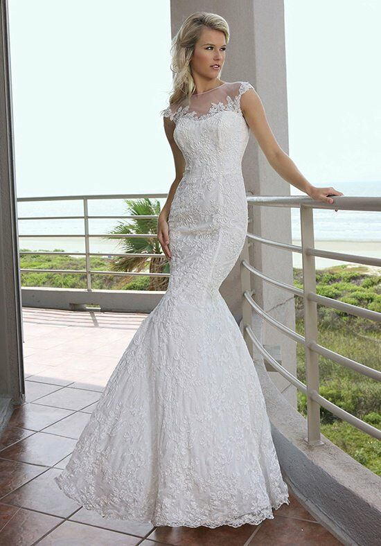 DaVinci Bridal 50241 Mermaid Wedding Dress