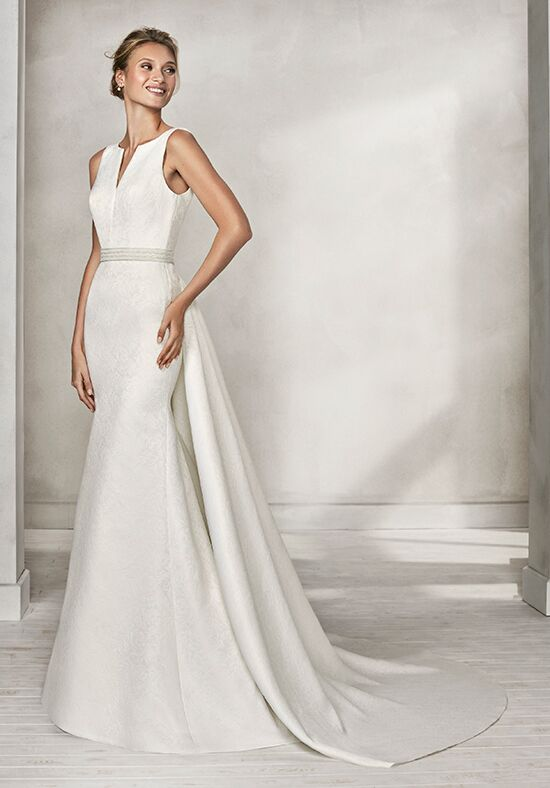 Luna Novias HOSS Mermaid Wedding Dress