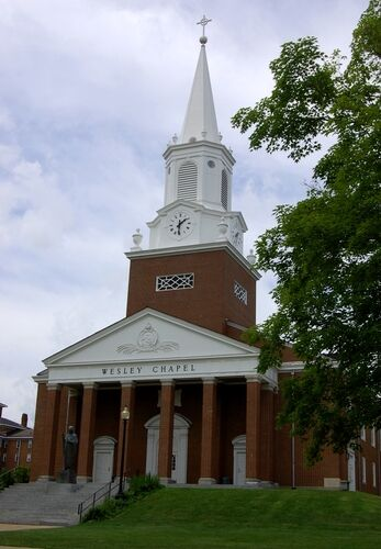 The Ceremony Will Be Held At Wesley Chapel Located On Campus Of West Virginia Wesleyan College In Buckhannon WV Begin Promptly