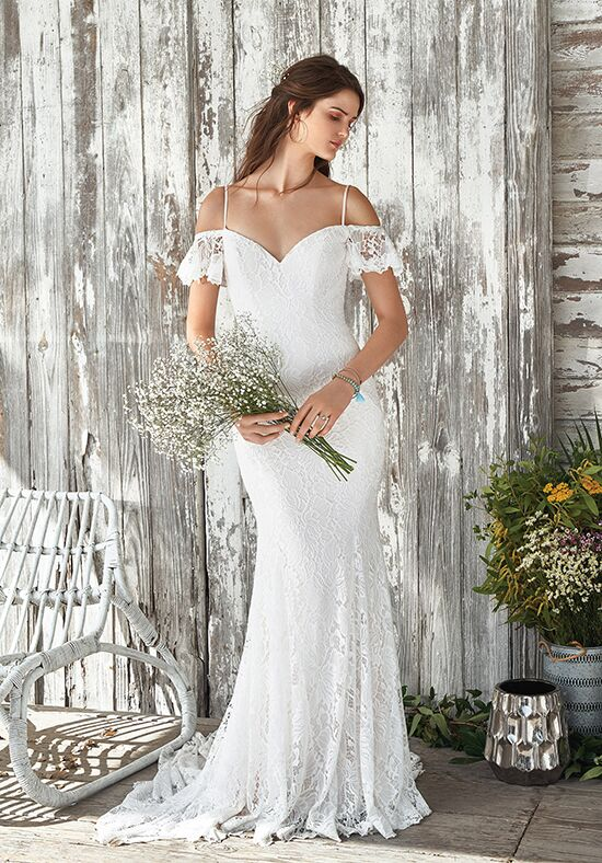 Lillian West 66047 Sheath Wedding Dress