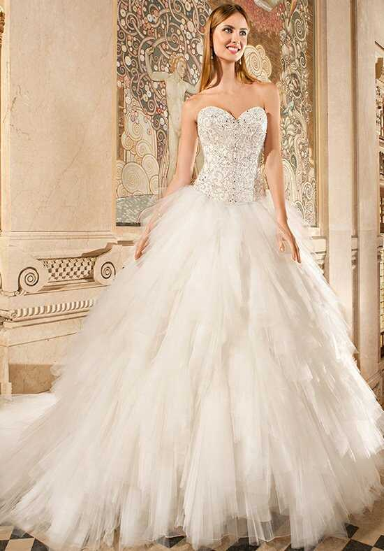 Demetrios 579 Ball Gown Wedding Dress