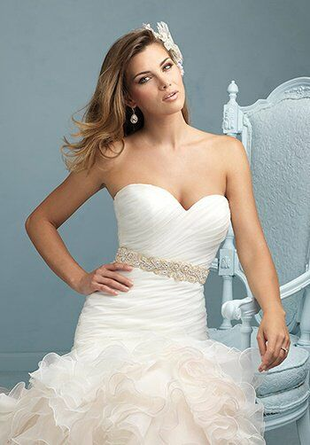 Allure Bridals 9223 Mermaid Wedding Dress