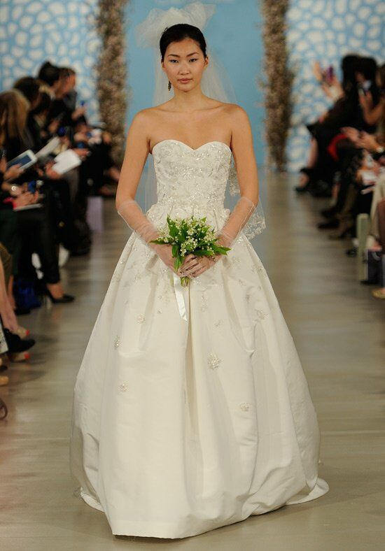 Oscar de la Renta Bridal 2014 Look 27 A-Line Wedding Dress