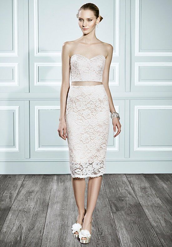 Moonlight Tango T691 Sheath Wedding Dress