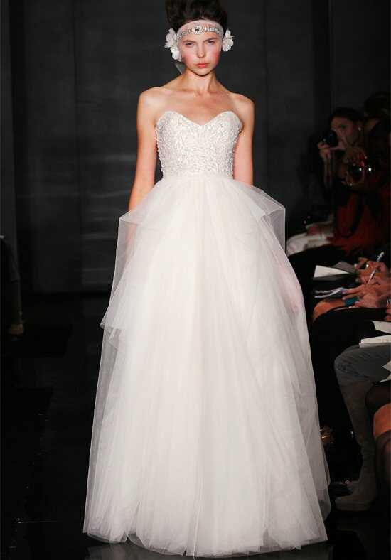 Reem Acra 4620 A-Line Wedding Dress