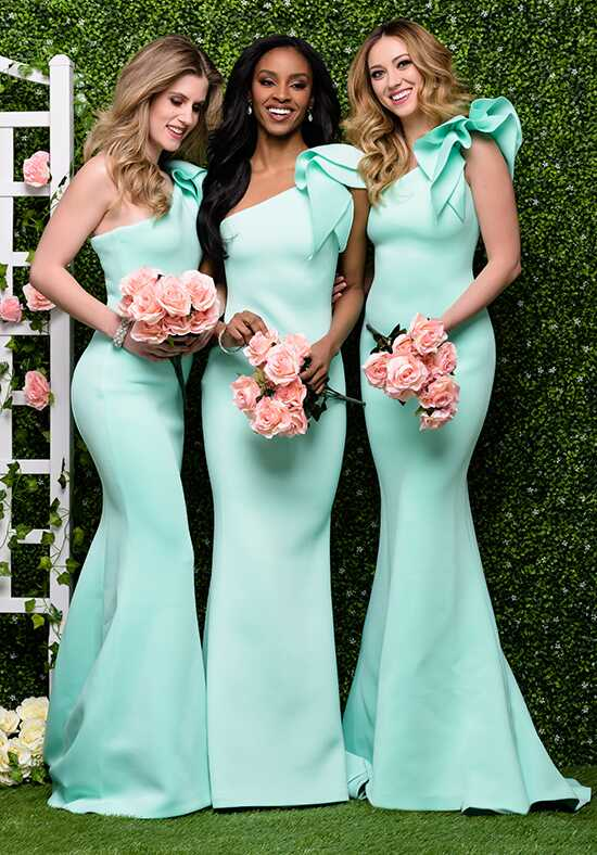 Jovani Bridesmaid 32602 One Shoulder Bridesmaid Dress