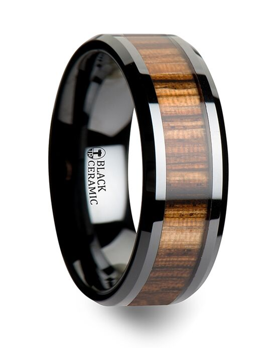Mens Tungsten Wedding Bands C1961-ZBWI Tungsten Wedding Ring