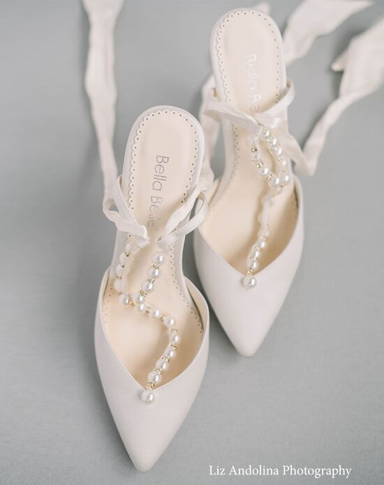 Ivory Wedding Shoes The Knot