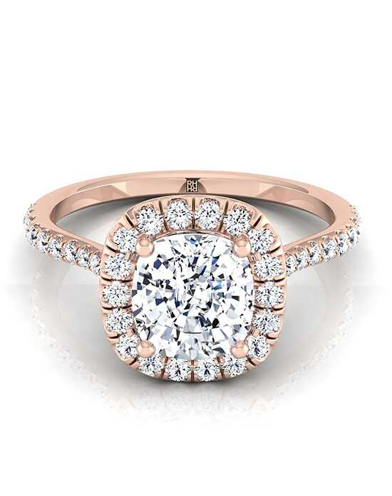 RockHer Glamorous Cushion Cut Engagement Ring