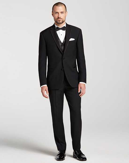 Men's Wearhouse Calvin Klein Framed Edge Tuxedo Black Tuxedo