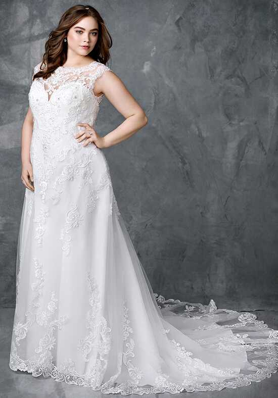 Femme by Kenneth Winston 3413 A-Line Wedding Dress