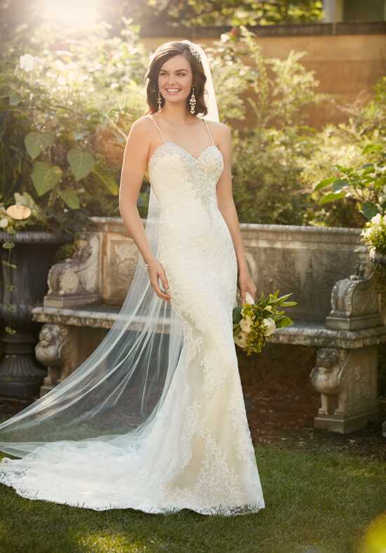 Essense of Australia D2006 Sheath Wedding Dress