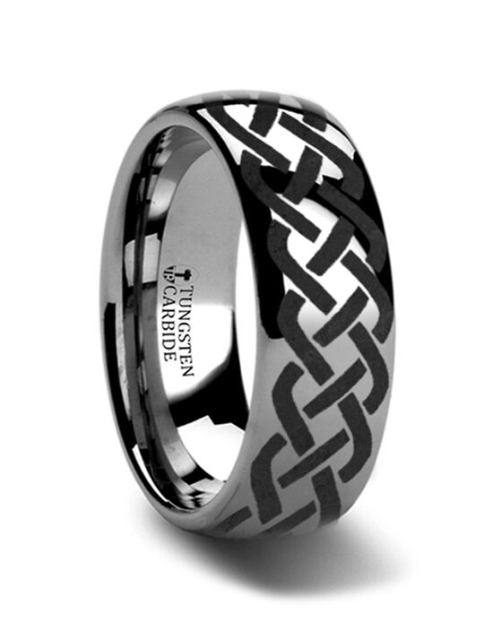 Mens Tungsten Wedding Bands T175-TCCK Tungsten Wedding Ring