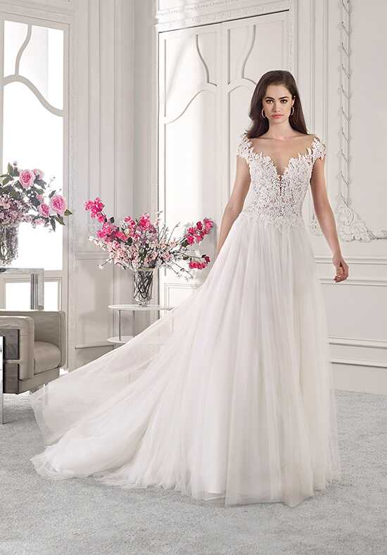 Demetrios 827 A-Line Wedding Dress
