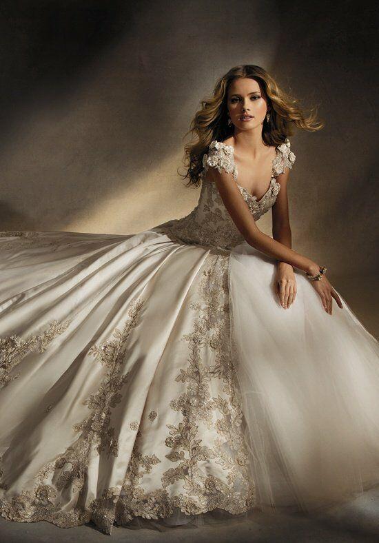 Amalia Carrara By Eve Of Milady 305 Ball Gown Wedding Dress