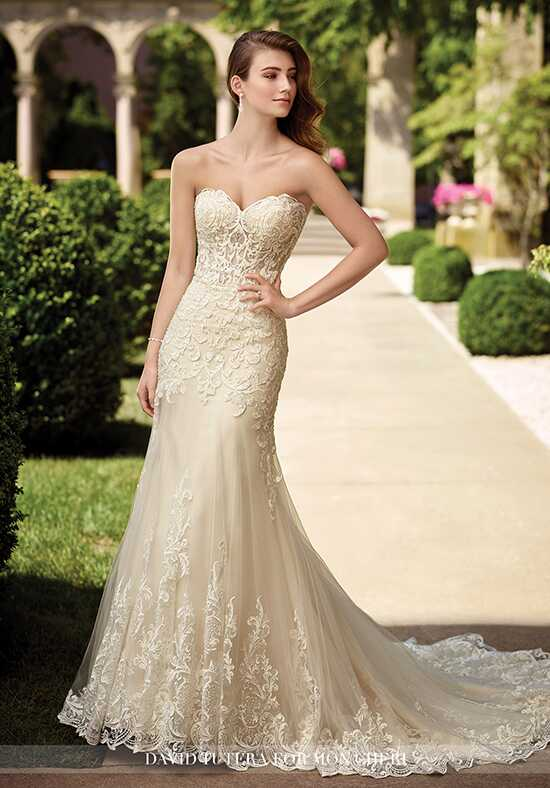 David Tutera for Mon Cheri 117278 Oria Mermaid Wedding Dress