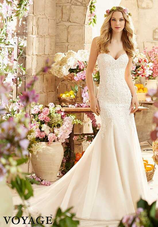 Morilee by Madeline Gardner/Voyage 6807 Sheath Wedding Dress