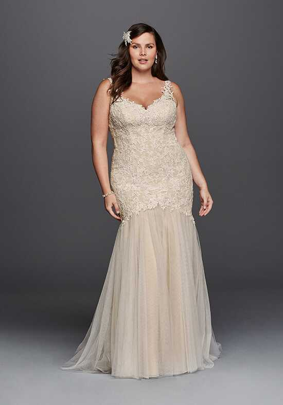 David's Bridal Galina Signature Style 9SWG723 Mermaid Wedding Dress