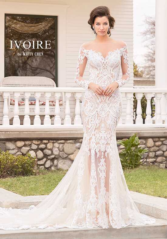 IVOIRE by KITTY CHEN ADRIANNA V1803 Sheath Wedding Dress