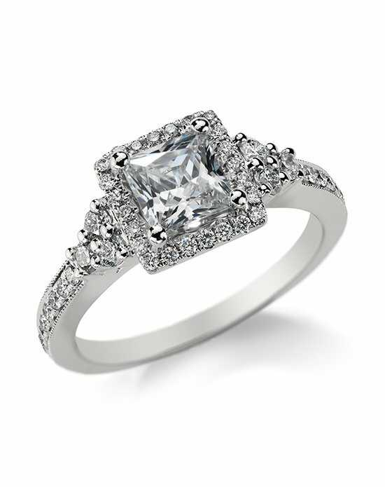 Monique Lhuillier Fine Jewelry Cut Engagement Ring