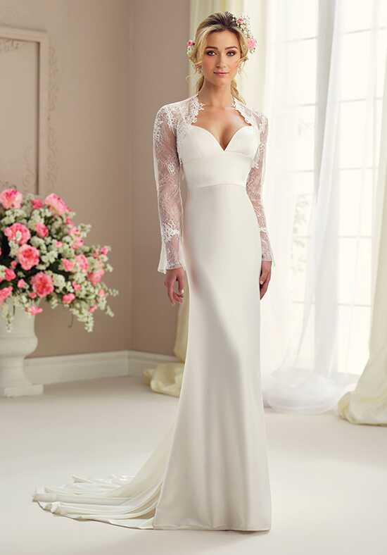 Enchanting by Mon Cheri 217101 Sheath Wedding Dress