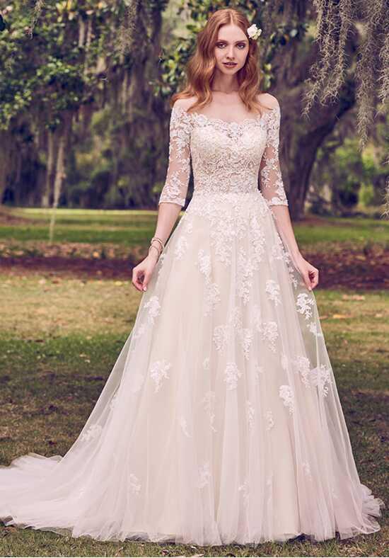 Illusion neckline wedding dresses maggie sottero junglespirit Choice Image