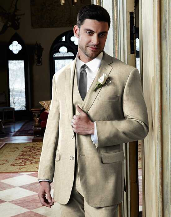 BLACKTIE MADISON Tan Wedding Suit Brown, Champagne Tuxedo