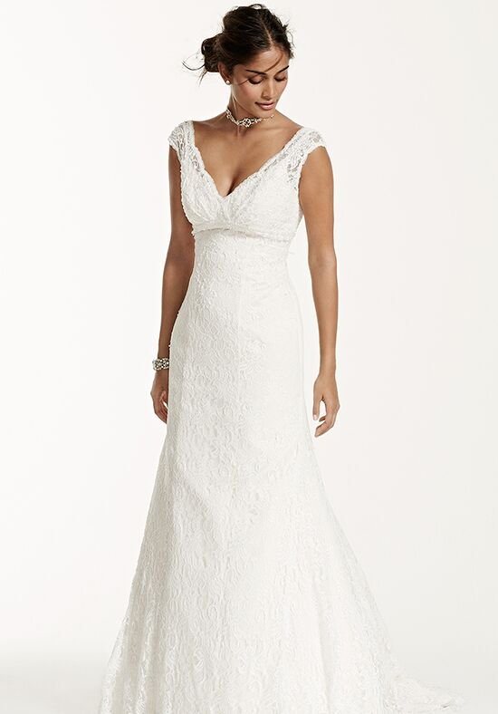 David's Bridal Galina Signature Style T9612 Mermaid Wedding Dress
