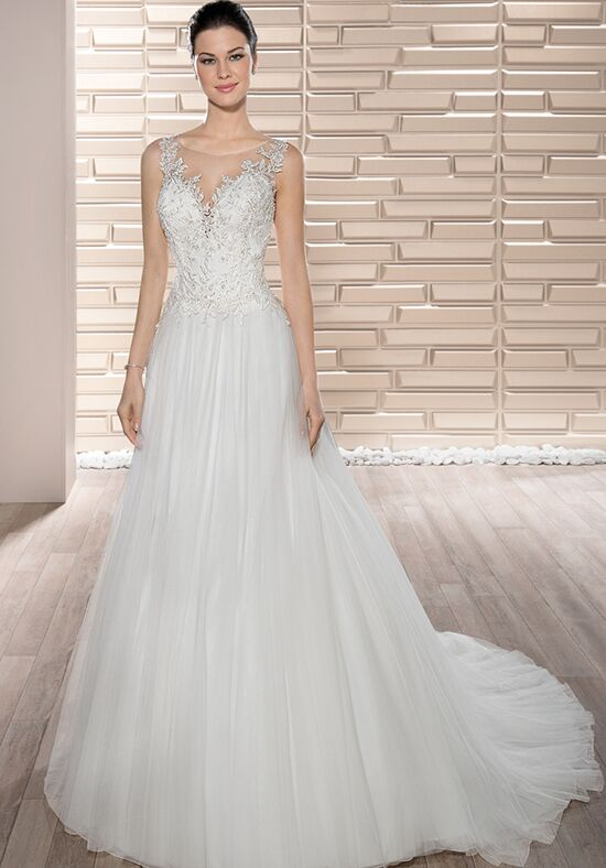 Demetrios 683 A-Line Wedding Dress