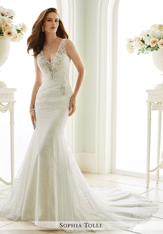 Sophia Tolli Y21669 Lucca Mermaid Wedding Dress