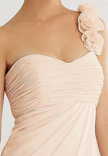 Jordan 463 One-Shoulder Bridesmaid Dress