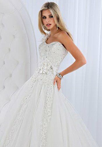 Impression Bridal 10105 A-Line Wedding Dress