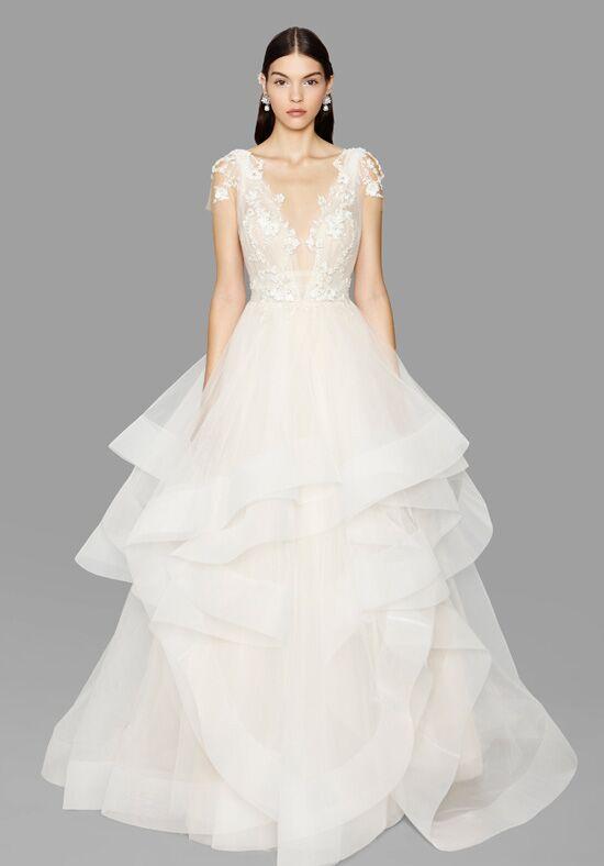 Marchesa Rosette Wedding Dress The Knot - Rosette Wedding Dress