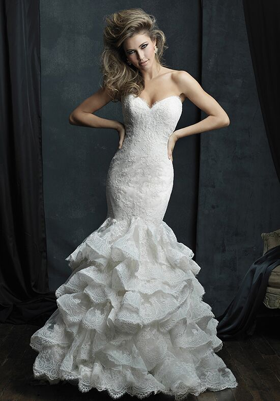 Allure Couture C384 Mermaid Wedding Dress
