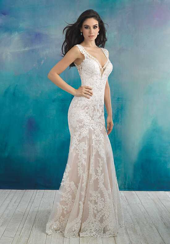 Allure Bridals 9513 Sheath Wedding Dress