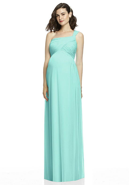 Dessy Collection M427 One Shoulder Bridesmaid Dress