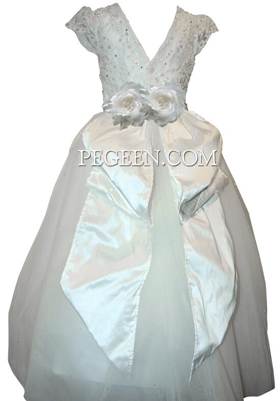 Pegeen.com  966 Flower Girl Dress photo